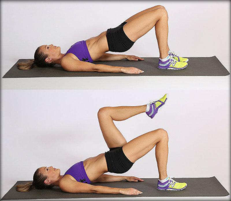 упражнение 4 для укрпеления мышц