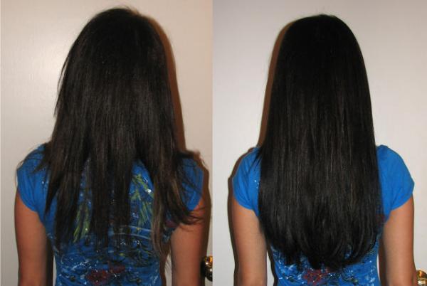 ламинирование волос с желатином