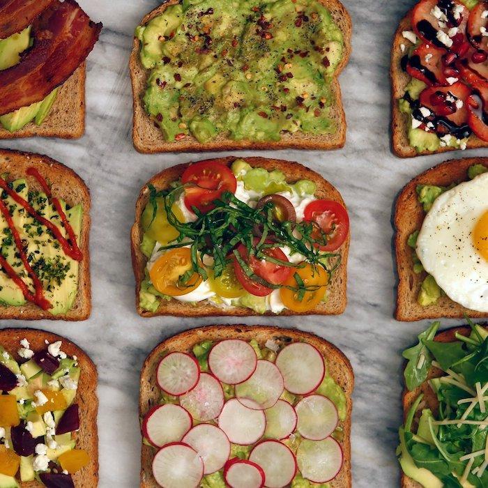тосты - рецепт быстрого завтрака
