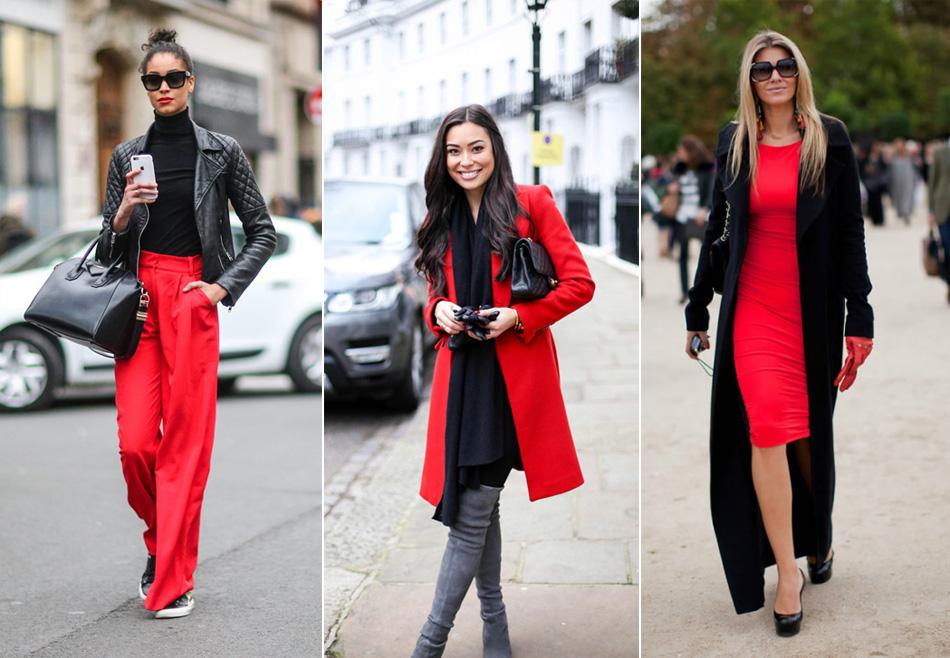 красный с черным в одежде
