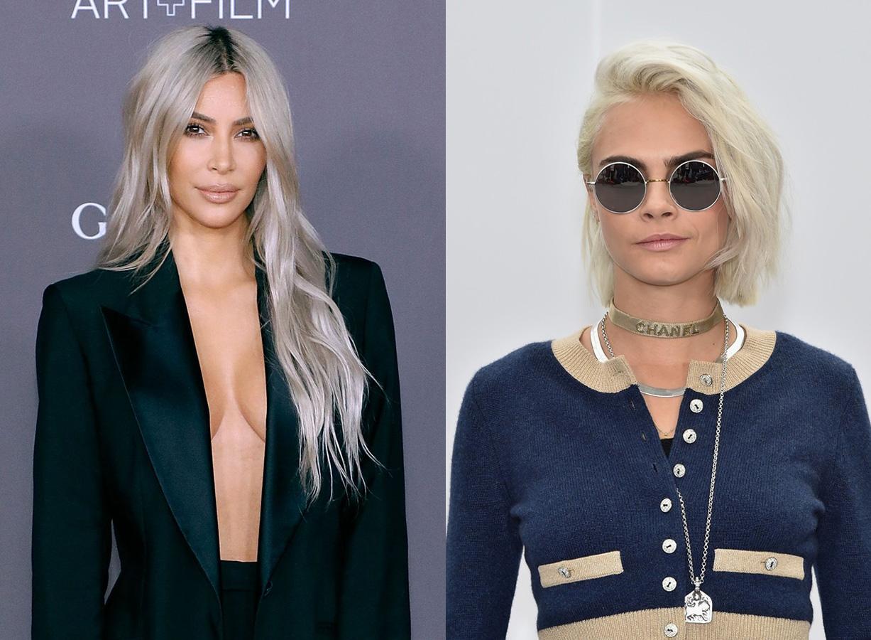 холодный цвет для блондинок 2018