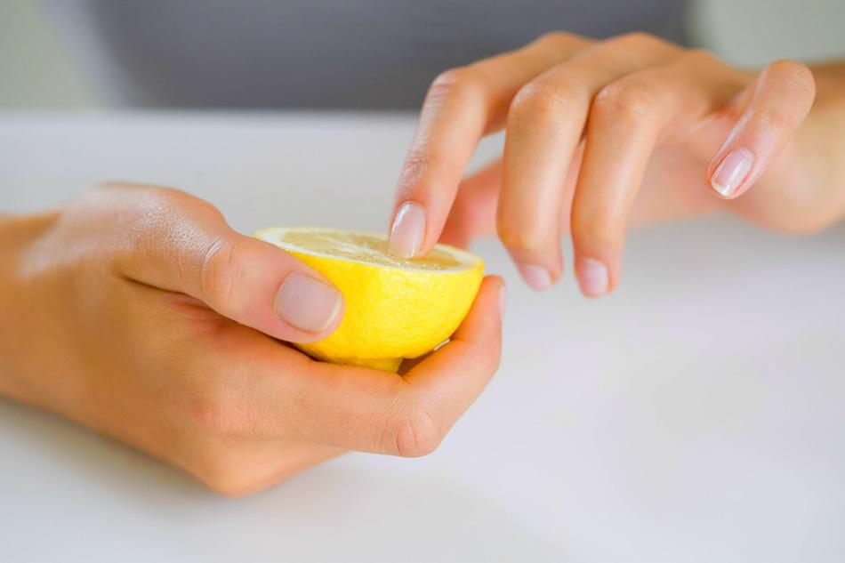 восстановление ногтей лимонным соком