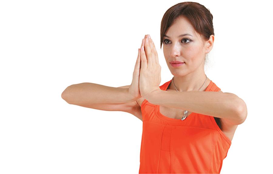 сдавливание ладоней для укрепления мышц