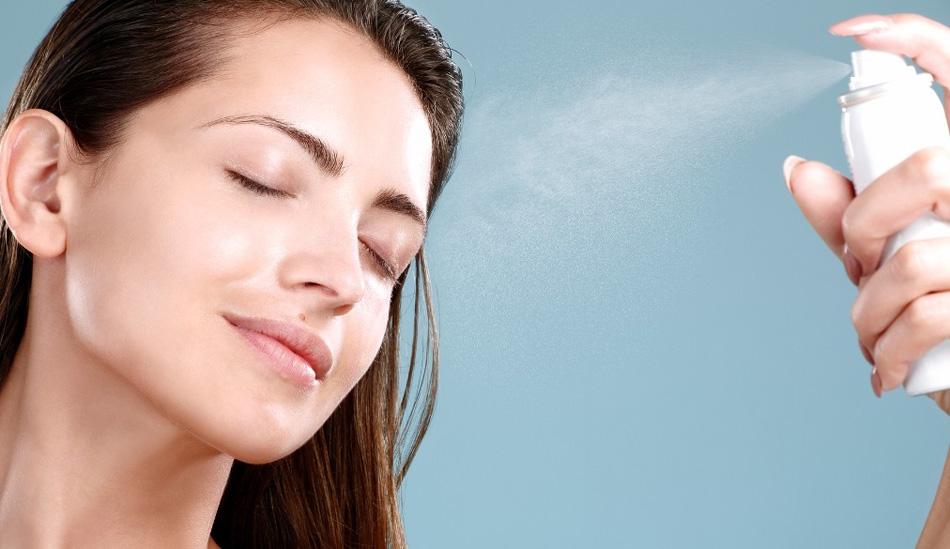 фиксирующий спрей для закрепления макияжа