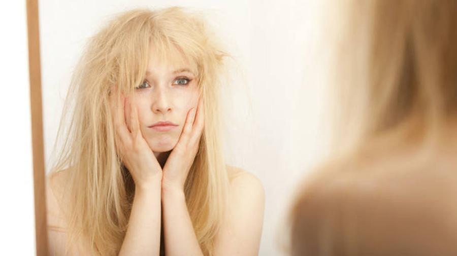 сильно электризуются волосы