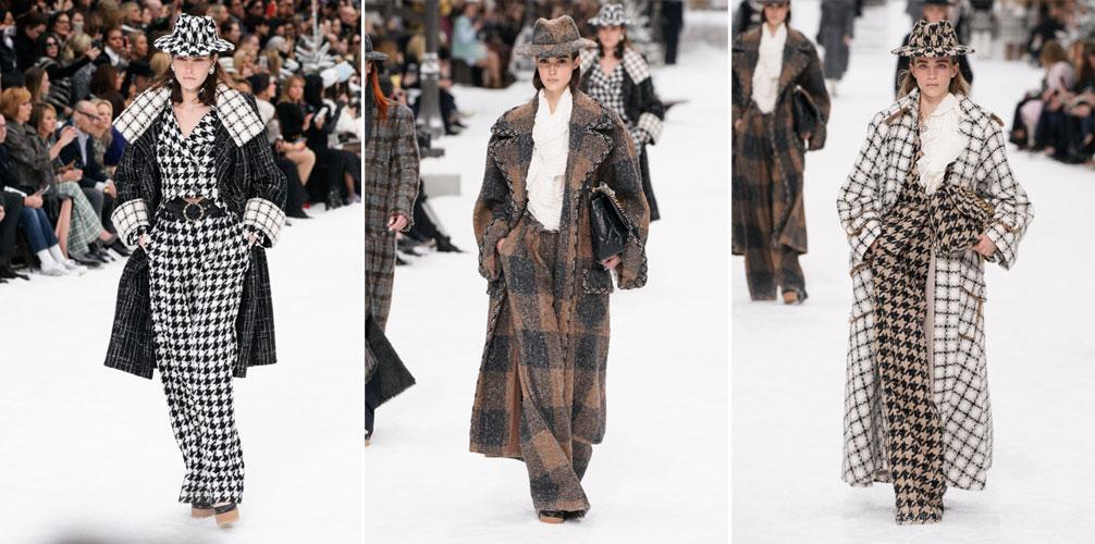 пальто коллекции осень-зима chanel