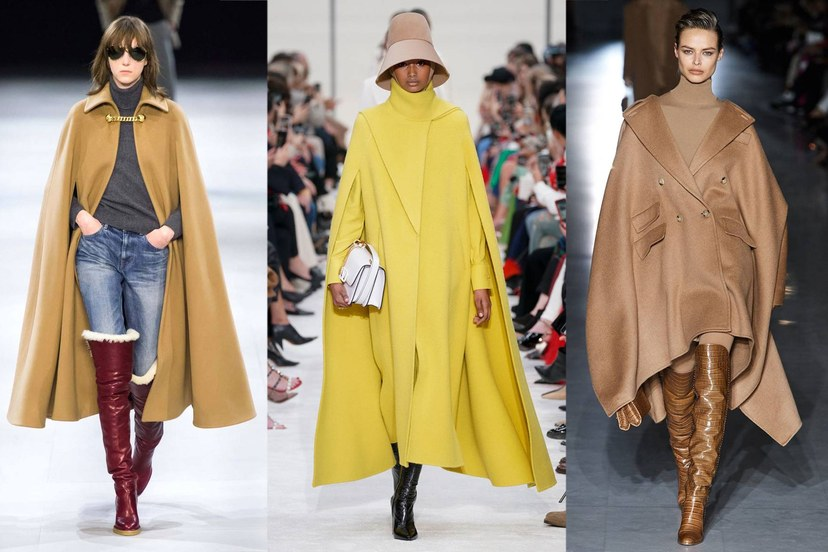 пальто кейпы светлые