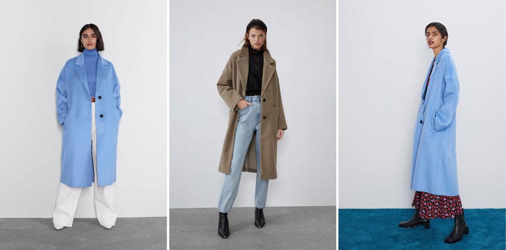 с чем носить пальто oversize