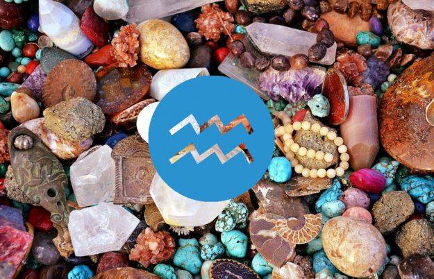 Какие они, идеальные камни для Водолея?